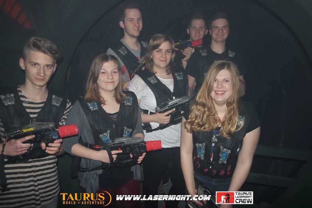 Lasernight Freitag 01.04.2016